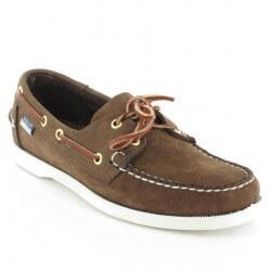 santoni sneakers cuir marine
