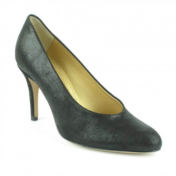Atelier Voisin - ELIA - Escarpins en cuir irisés - noir