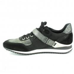 manuelo barcelo sandale raphia gris