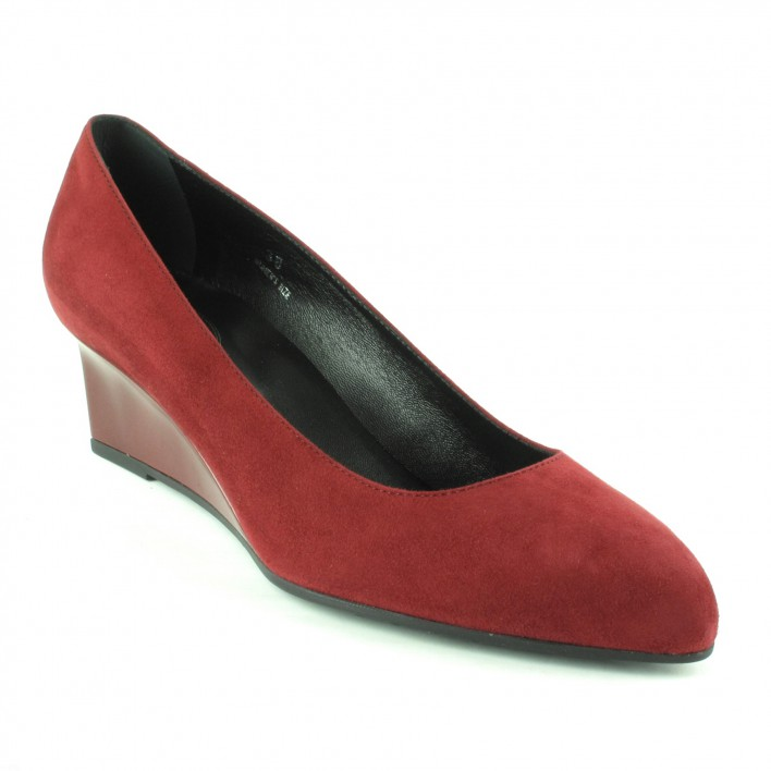 tod's ballerines rouge velours
