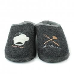 plakton sandales compensées cuir