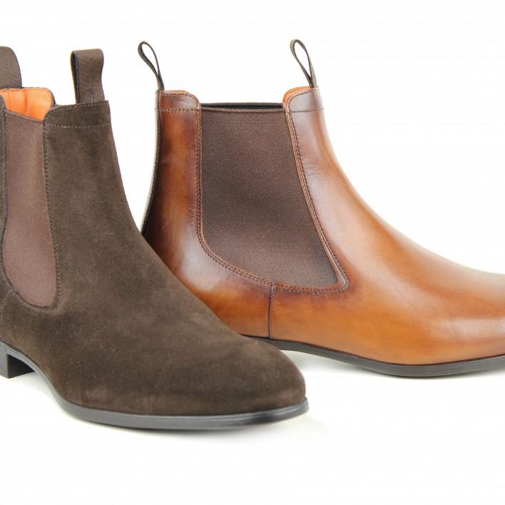 plakton sandales compensées cuir gras
