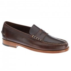 sebago mocassins legacy brown