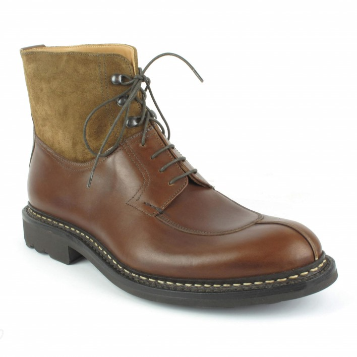 heschung boots ginkgo cognac