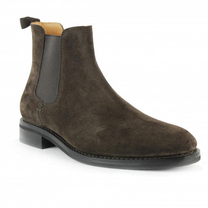 heschung chelsea boots velours