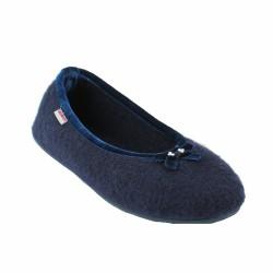 giesswein chaussons bleu