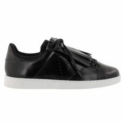 victoria sneakers à franges noir
