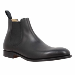 church's chelsea boots cuir noir