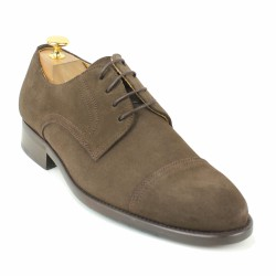 bernuci derby velours marron