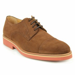 bernuci derby velours rouille