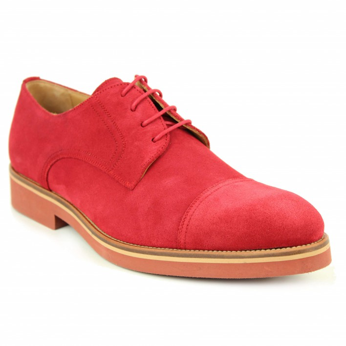 bernuci derby velours rouge