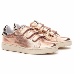 serafini sneakers gold rose