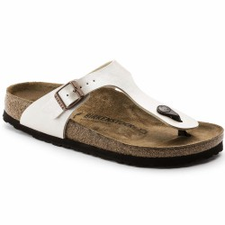 birkenstock sandale pearly white
