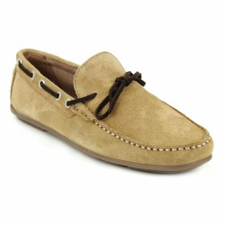 jefferson mocassin velours beige