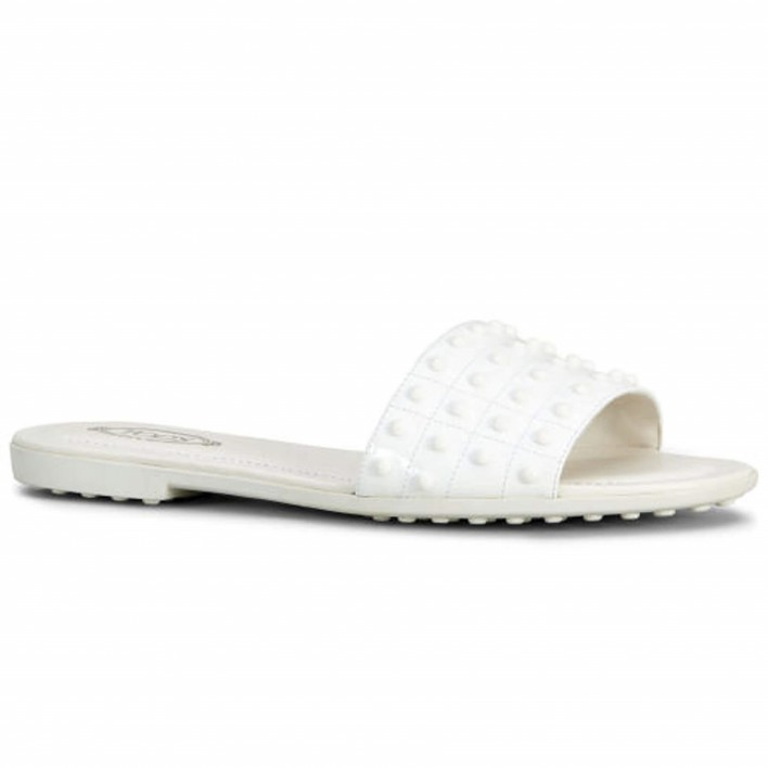tod's mule blanche