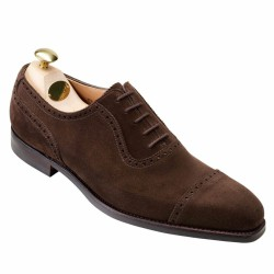 crockett and jones richelieu brown