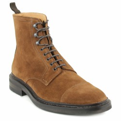 heschung bottines lacées velours