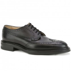 church's derby cuir noir