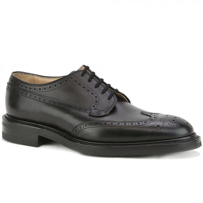 church's derby cuir noir