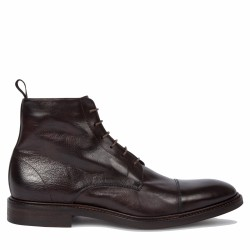 paul smith boots à lacets marron