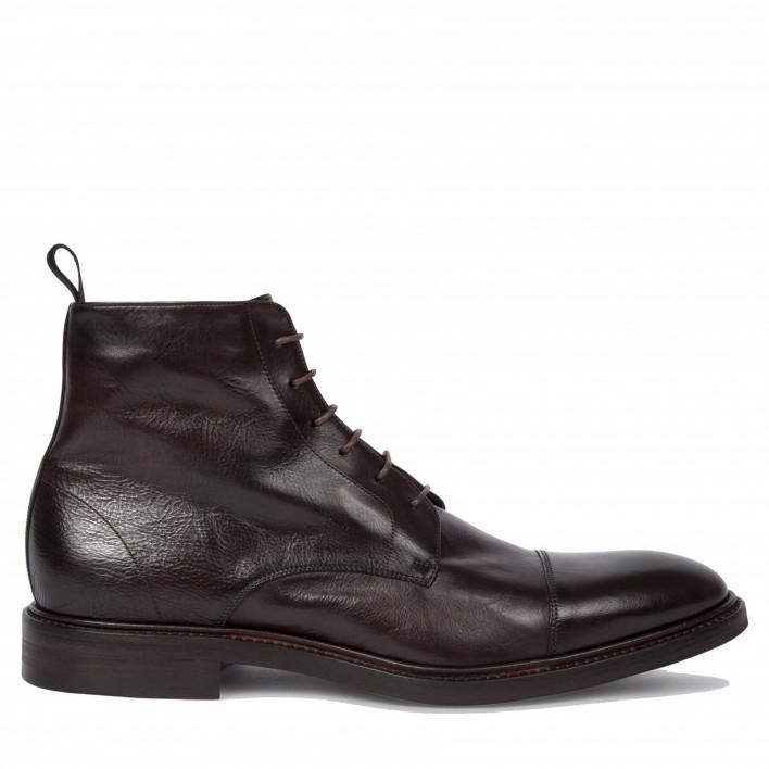 paul smith boots à lacets marron