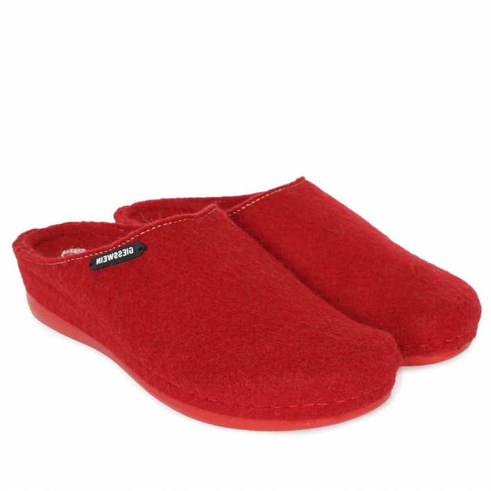 giesswein chaussons rouge