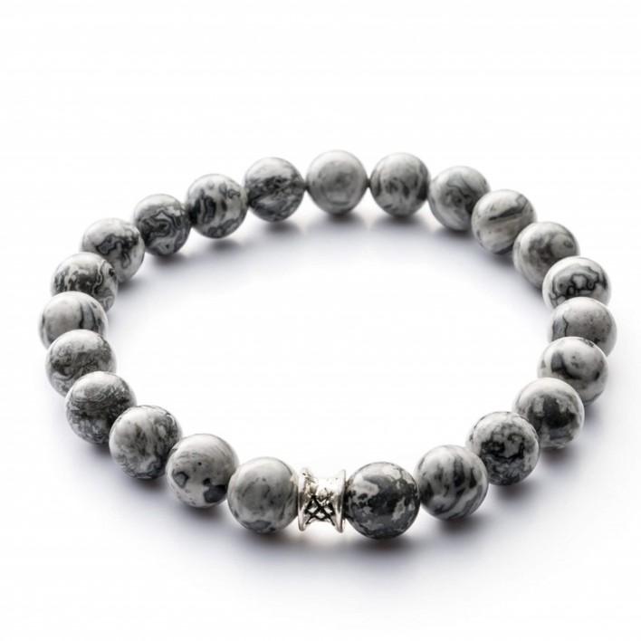gemini bracelet gris