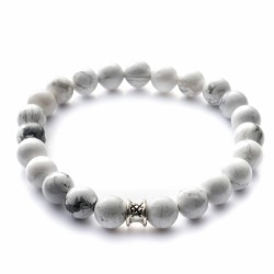gemini bracelet blanc