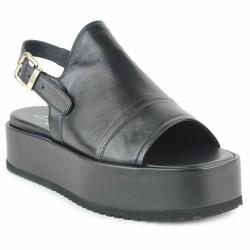 agl sandale bloc noire
