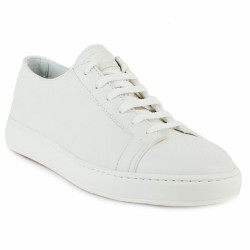 santoni sneakers blanches