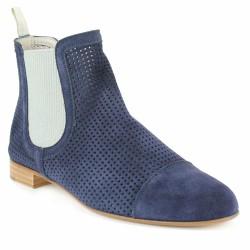 pertini chelsea boots velours