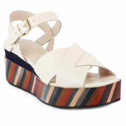 paul smith sandale plateau bayadère