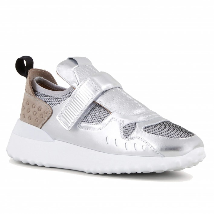 tod's sneakers argent