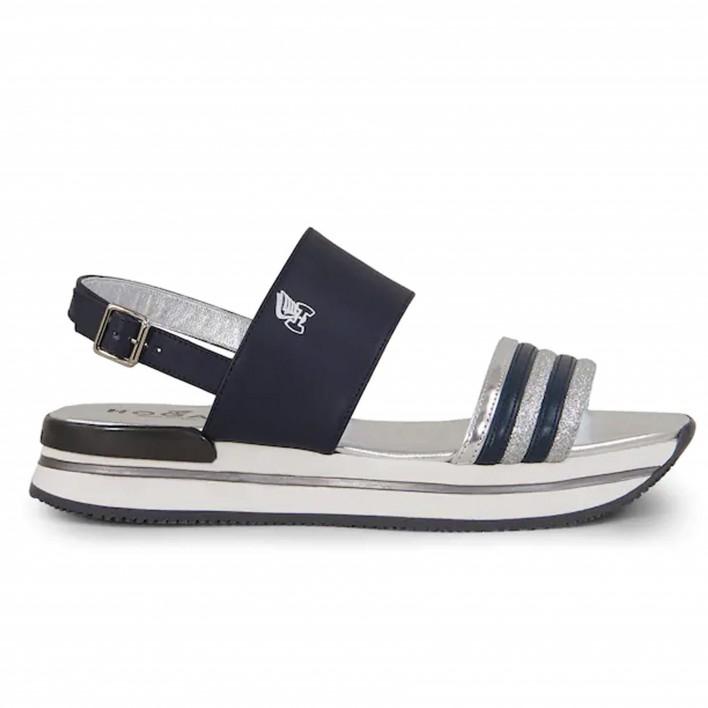 hogan sandales bleues