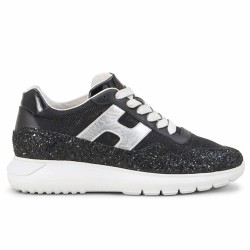 hogan sneakers paillettes noires