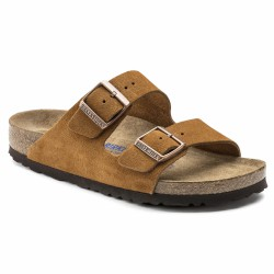 birkenstock velours marron