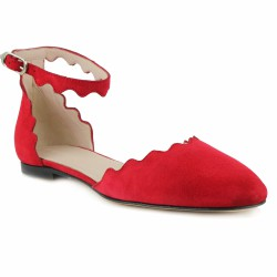 triver flight ballerine rouge