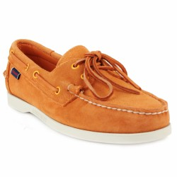 sébago dockside velours orange