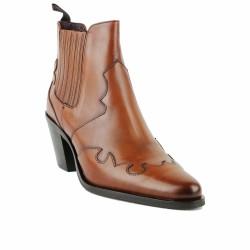 muratti boots cuir camel