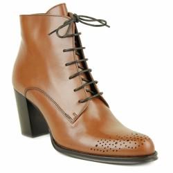 muratti boots à lacets gold