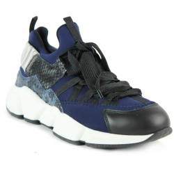 triver flight sneakers bleu