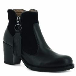 palladium boots cuir noir