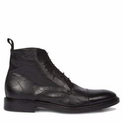 paul smith boots lacées noir