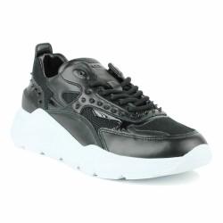 d.a.t.e sneakers en cuir noir