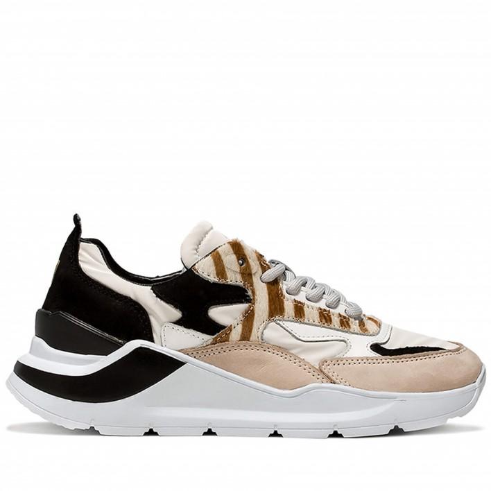 d.a.t.e sneakers zèbre