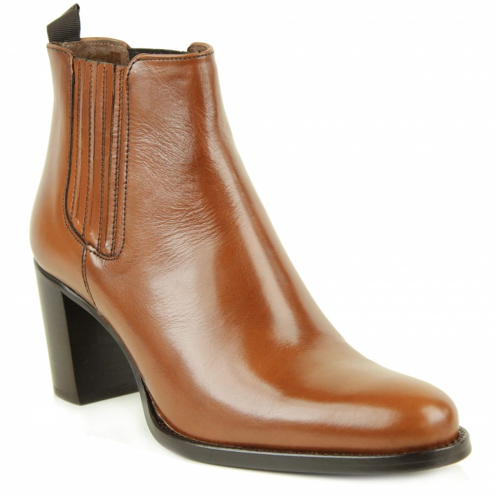 muratti chelsea boots gold