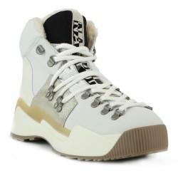 napapijri boots fourrées blanches