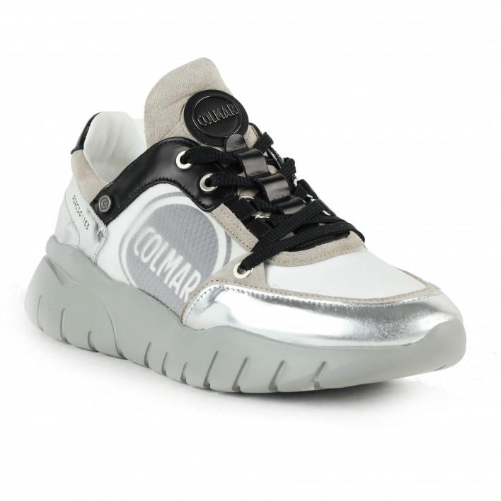 Colmar - SUPREME DIANA - Sneakers running argentées - gris/noir