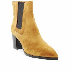 santoni chelsea boots velours