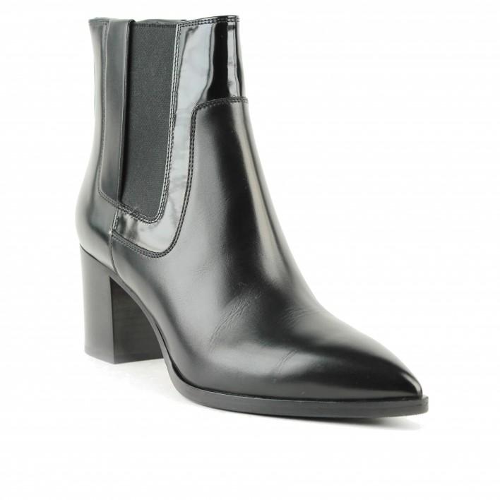 santoni chelsea boots à talon